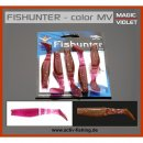 MIKADO FISHUNTER MAGIC VIOLET Shads Drop-Shot Köder...