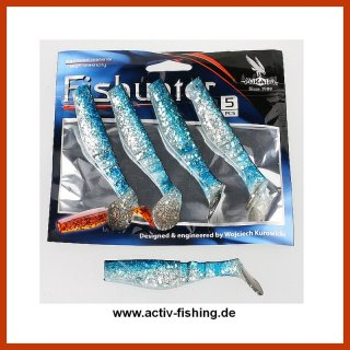 MIKADO FISHUNTER (125) Shads Drop-Shot Köder Gummifische 5,0 bis 13,0cm