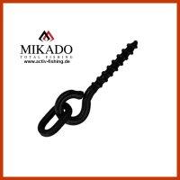 10 x MIKADO 13mm Metall Boilie Schrauben mit Ring...