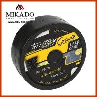 10m MIKADO GRAVIS Lead Core grünes Vorfachmaterial...