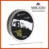 10m MIKADO free Lead Core Vorfachmaterial 40lbs u....