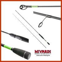 Medium Spinnrute MIVARDI ACCORD 2,65m/ Wg. 5-28g für...