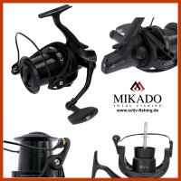 MIKADO NOCTIS CARP 8010 starke Karpfenrolle Heavy Feeder...