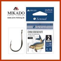 MIKADO CHINU 10 starke abgeflachte Feederhaken Method...