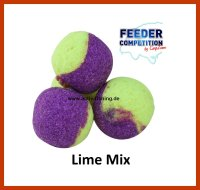 13g CARP ZOOM FC 9mm Method Duo Wafters LIMETTE MIX Pop Up
