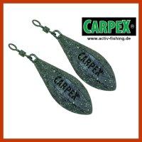 2x CARPEX Long Cast Lead Stealth Distance Blei...