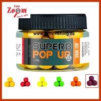 40g CARP ZOOM SUPERB POP UP 16mm Boilies Hot Spice