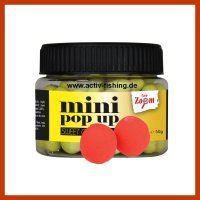 50g CARP ZOOM 10mm Boilie Mini Pop Up Miniboilie Strawberry