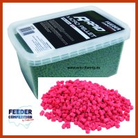 300g MICRO PELLETS 2,5mm Futterzusatz Additive STRAWBERRY