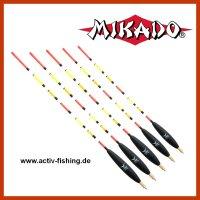 "Multicolor Waggler ""MIKADO SMW-002""  vorbebleit 4,0g+2,0g - 30,5cm"
