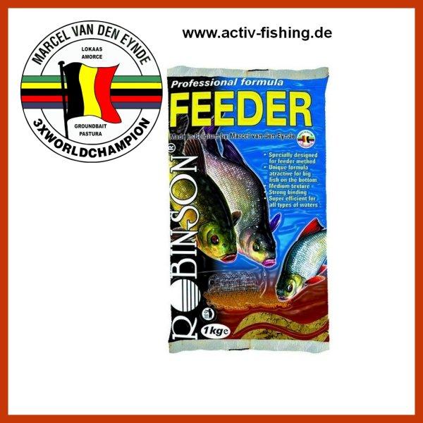 1kg VAN DEN EYNDE ROBINSON TEAM hochwertiges Wettkampf Lockfutter Groundbait für Feederfischen