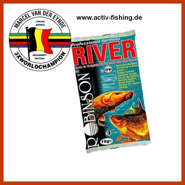 1kg VAN DEN EYNDE ROBINSON TEAM hochwertiges Wettkampf Lockfutter Groundbait für den Fluss