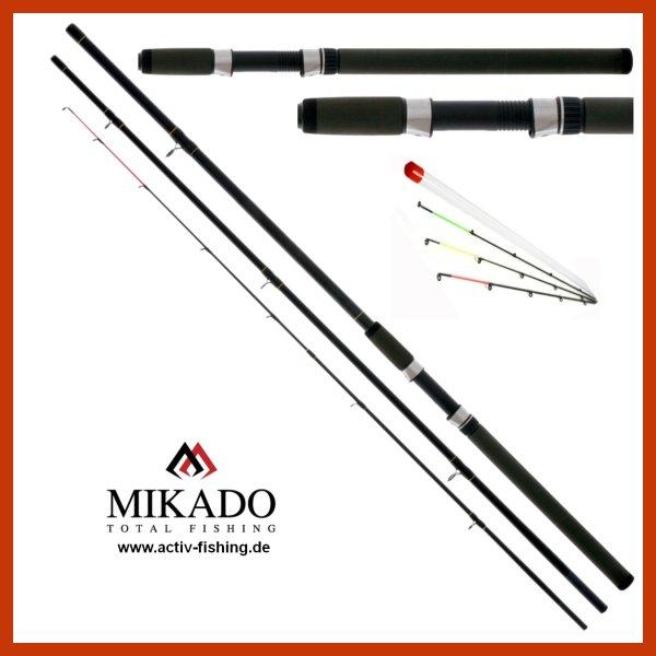 """MIKADO Method Feederrute """"GOLDEN LION ULTRAFEEDER"""" 3,90m / 430g / Wg. 30-100g"""