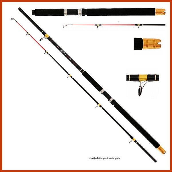 """"""" MIKADO CAT FISH """" Pilkrute Wallerrute Hechtrute 2,10m bis 3,00m / Wg.300g"""