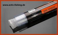 5,0m feines PVA Netz 23mm in Tube mit Stopfer, PVA-fine Mesh Auflösung 60-90 sek. bei 15°C Wassertemperatur