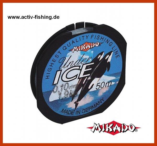 50m Angelschnur speziell für die Eisfischerei Ø 0,18mm / 4,20kg