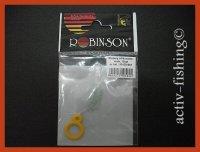 15 Stück Robinson Silikonstopper Schnurstopper Größe L