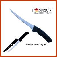 """""""ROBINSON"""" Filetiermesser Angelmesser Messer..."""
