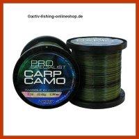 "1200m Camouflage monofile Angelschnur Carp Line""PRO..."