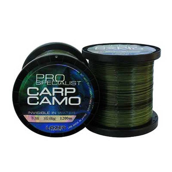 "1200m Camouflage monofile Angelschnur Carp Line""PRO SPECIALIST CARP CAMO"" 0,38mm / 10,6kg"