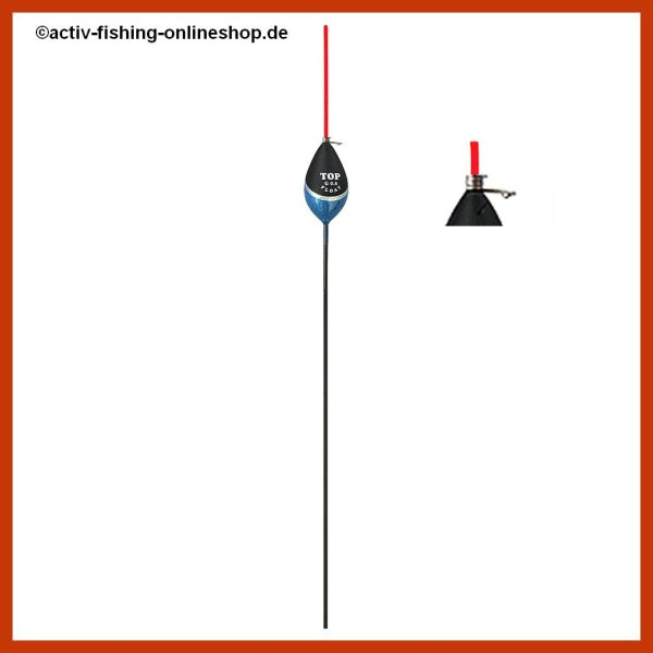"""TOP FLOAT"" TF 1028  Posen Schwimmer Antenne rot 4,0g"