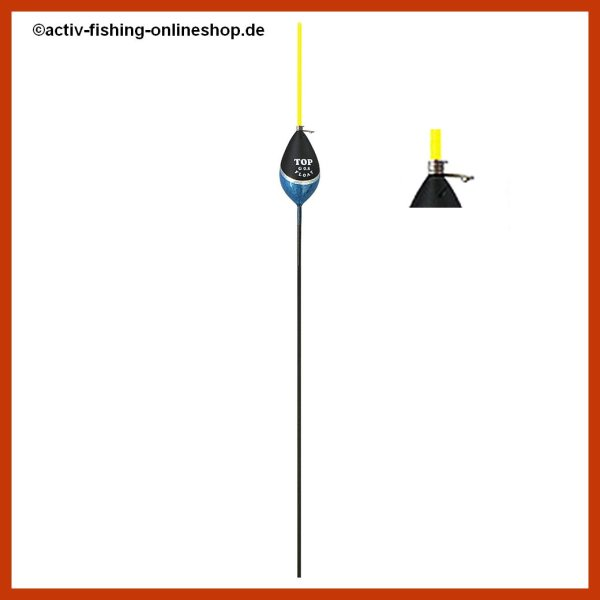"""""""TOP FLOAT"""" TF 1028 Posen Schwimmer Antenne gelb 3,0g"""