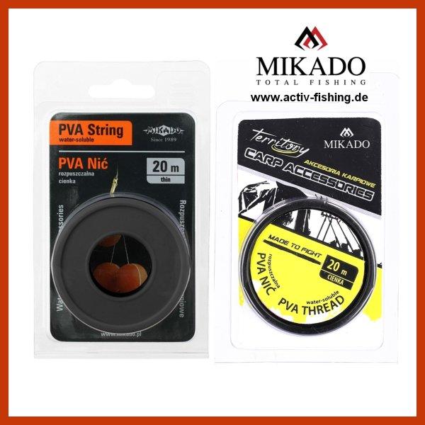 20 St/ück PVA-Netz K/öder zum Karpfenangeln l/ösliche Fisch-Nachf/üllpackungen 5 m cherrypop PVA-Netz f/ür Boilie-Rig 25 mm breit