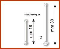 """"""" STONFO 139 """" Boiliestopper Boiliehalter Pellethalter Hair-Rig 18 mm"""