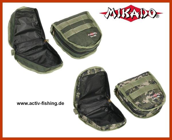 """"""" MIKADO UWJ-R001 """"   Rollentasche (20x20x8cm) gepolsterter Boden und Deckel grün"""