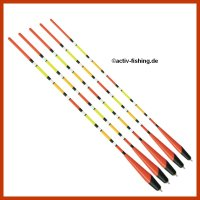 """""""TOP FLOAT TF 8003"""" Multi Color Laufpose Pose Waggler 6+2g / 34,5cm"""
