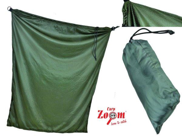 """CARP ZOOM"" massiver Soft Mesh Karpfensack 100x80cm Carp Sack mit Transportsack"