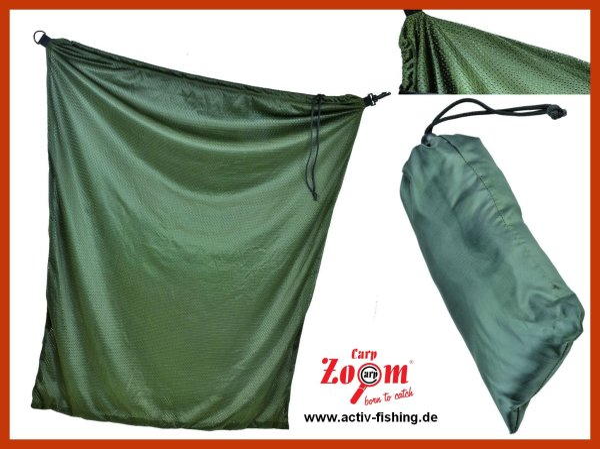 """CARP ZOOM"" massiver Soft Mesh Karpfensack 150x100cm Carp Sack mit Transportsack"