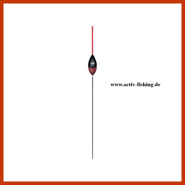 """""""TOP FLOAT TF1030"""" Stipp Pose Schwimmer Wettkampfpose rot 2,50g"""