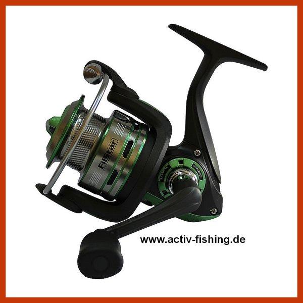 """""""FILSTAR ZODIAK"""" Stationärrolle Weitwurspule Frontbremse Matchrolle Spinrolle Model 4000 / Gewicht 305g"""