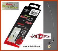 8 x MIKADO METHOD FEEDER 702 Haken Rig `s mit...