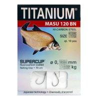 """10 x"""" TITANIUM """" gebundene Brassenhaken..."""