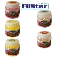 60g FILSTAR CARP stark haftender Protein Bait Powder Dip...