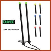 """"""" CARPEX """" 14cm Snag Bar mit LED Rutenhalter..."""