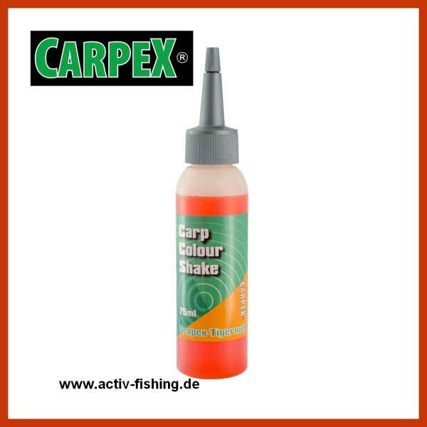 75ml CARPEX CARP COLOUR SHAKE Flavour Liquid Aroma für Boilie
