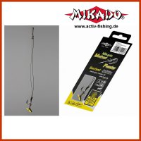 8 x MIKADO METHOD FEEDER Haken Rig `s mit Quick Stop und...