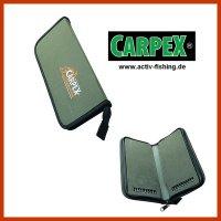""""""" CARPEX """" Karpfenvorfach Tasche Rig- Bag Stiff..."""