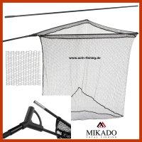 MIKADO Karpfenkescher Kescherstab 1.8m One-Piece Power...
