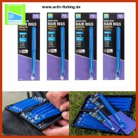 8 x 10cm PRESTON RAPID STOP HAIR RIGS Feederhaken KKM-B...