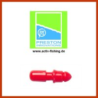PRESTON SLIP MICRO CONNECTOR RED Konnektor für Gummizüge...