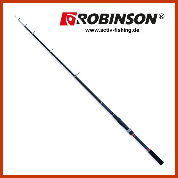 """Karpfenrute Raubfischrute"""" ROBINSON CARBONIC T-STRONG"""" 3,3m / 370g / Wg.50-120g"""
