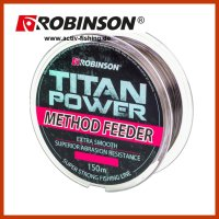 150m ROBINSON TITAN POWER METHOD FEEDER braune schnell...