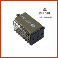 """""""MIKADO"""" eckiger Futterkorb 25x30x44mm Dark..."""