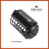 """""""MIKADO"""" schwarzer Futterkorb Ø32 x 37mm..."""