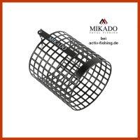 MIKADO runder schwarzer Futterkorb XL Futterbombe...
