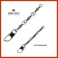 "10 ""MIKADO TC04"" dreifach antidrall Wirbel mit..."